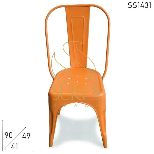 SS1431 Suren Space Compact Most Popular Cafe Bistro Outdoor Stackable Chair