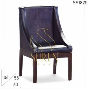SS1825 Suren Space Original Leather Fine Dine Restaurant Chair