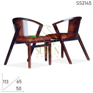 SS2145 Suren Space Indian Solid Rosewood Restaurant Chair