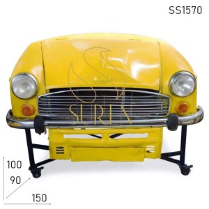 SS1570 Suren Space Old Indian Car Design Automobile Car Bar Cabinet