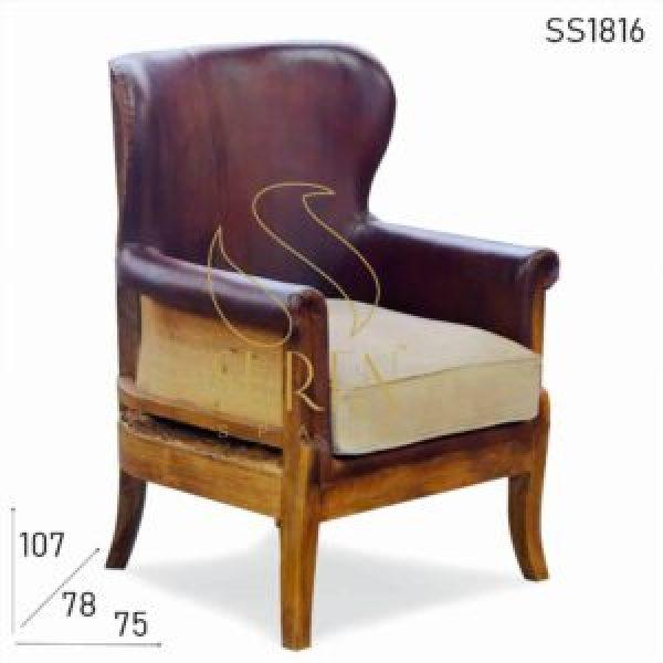 SS1816 Suren Space Farmhouse Вдохновить сырье Дизайн Вдохновить Одноместный seater для ресторана