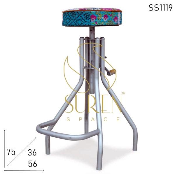 SS1119 SUREN SPACE Высота регулируемый дизайн железного промышленного барного стула