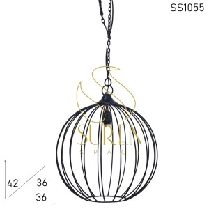 SS1055 SUREN SPACE Iron Round Shape Pendant Lamp