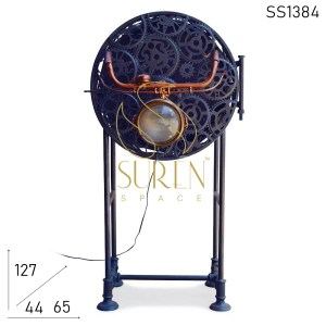 SS1384 Suren Space Bicycle Part Upcycled Theme Bar Armoire