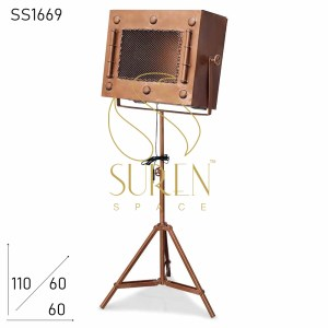 SS1669 SUREN SPACE Old Bioscope Design Industrial Table Lamp Design