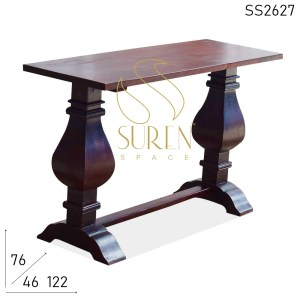 SS2627 Suren Space Hand Curved Fine Workmanship Console Table Design