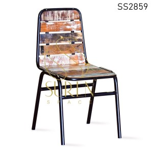 Reclaimed MS Frame Stackable Tent Inspire Chair