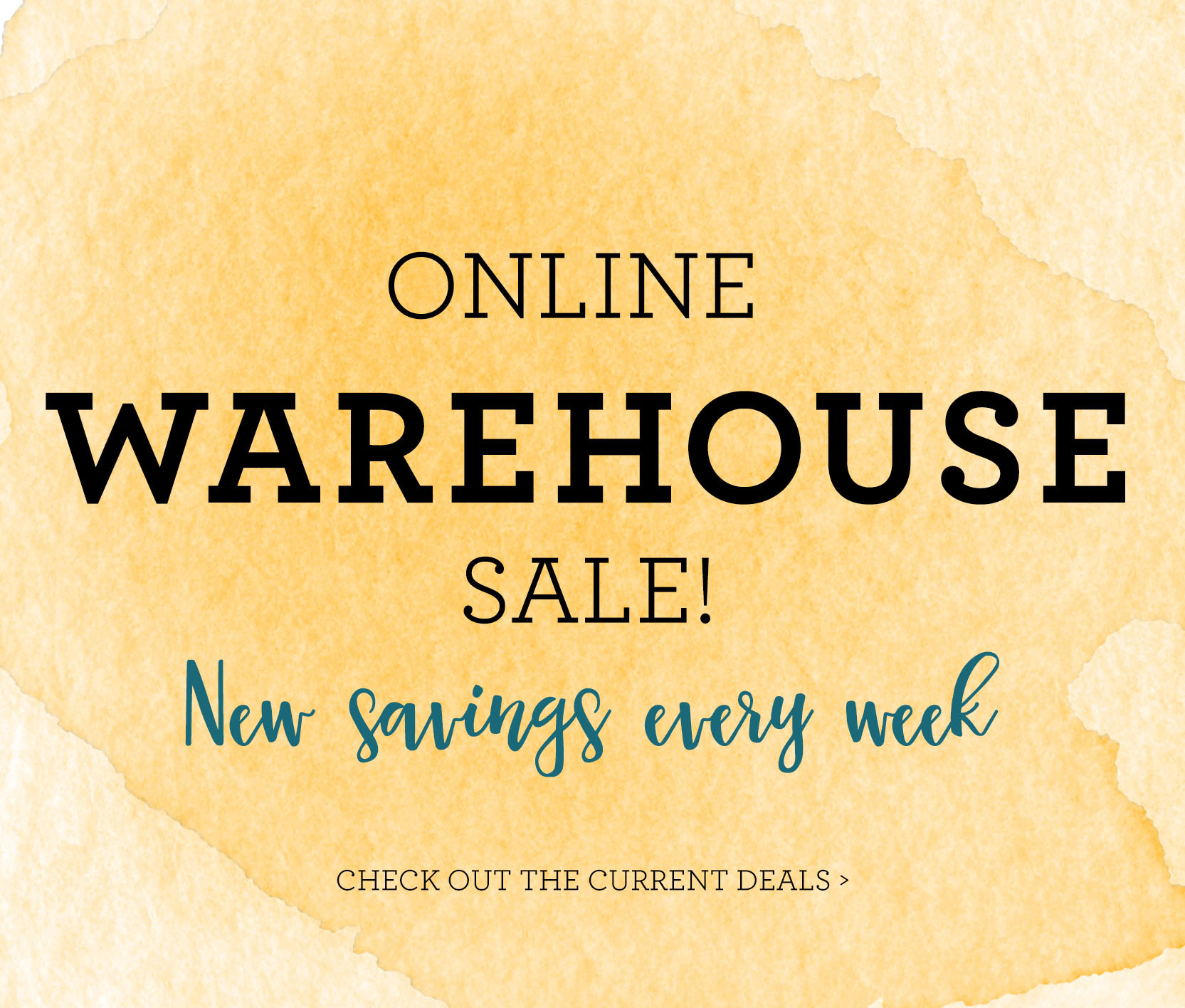 ONLINE WAREHOUSE SALE!!