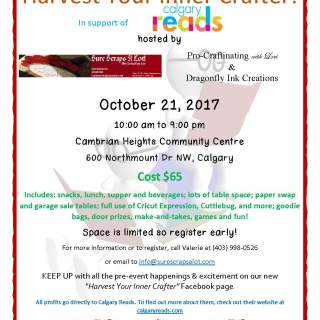 Harvest Your Inner Crafter 2017 Crop Event