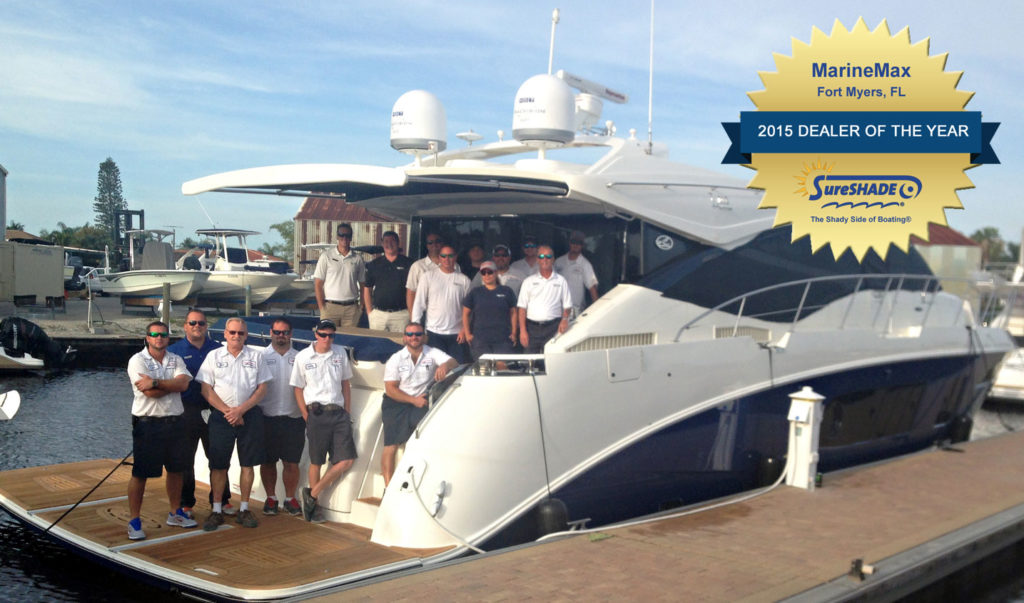 MarineMax Ft. Myers Dealer award