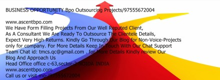 Thumbnail for BUSINESS OPPORTUNITY Data Entry Projects/97555672004