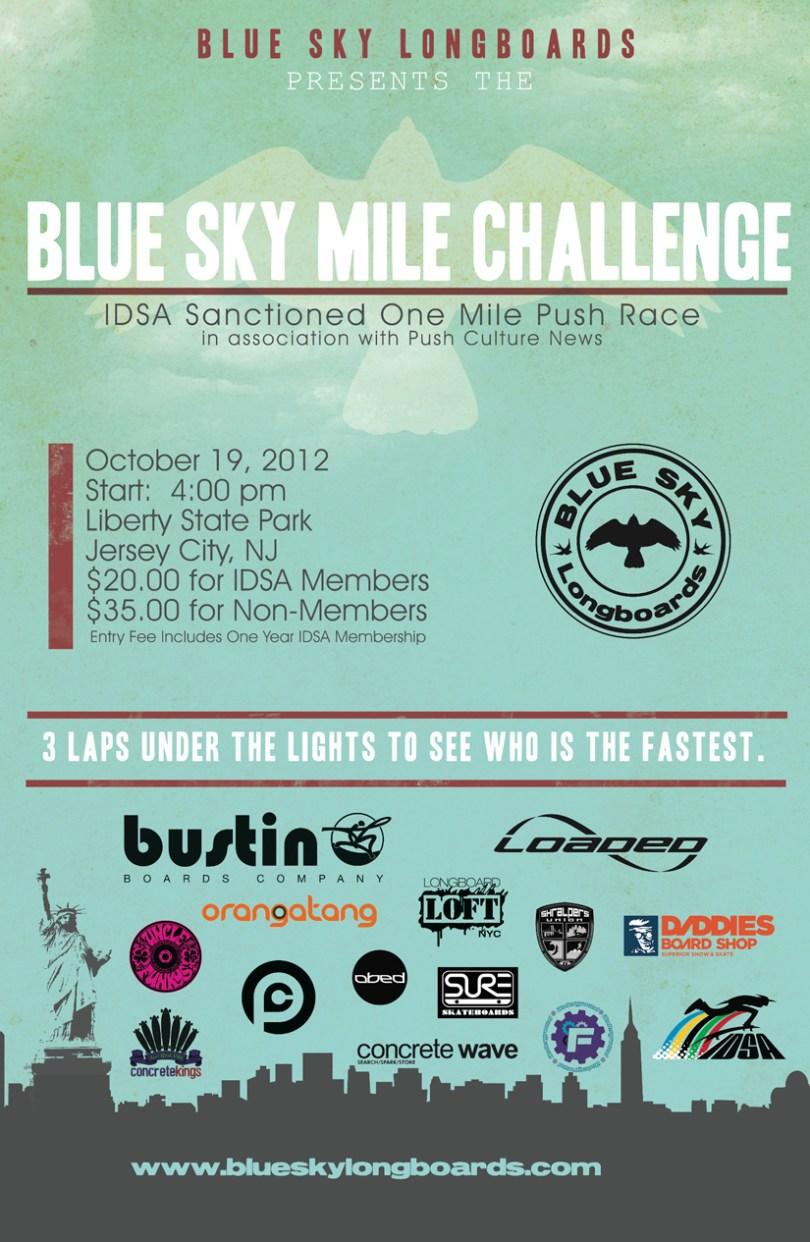 Blue Sky Mile Challenge