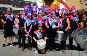 Accrington Biggest Weekend Parade - Suco Samba