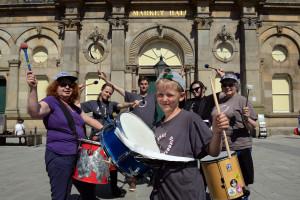 Accrington Biggest Weekend Parade - Baybeat Streetband