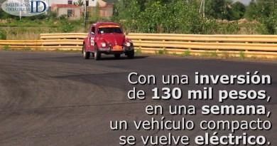 Mexicanos crean alternativa de movilidad a través de la conversión a vehículos eléctricos