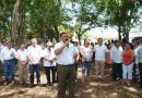 Discurso del Gobernador en el inicio de obras de conservación de calles y del camino Tiholop – San Pedro – Kanakom