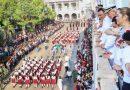 Vistoso desfile por el 208 aniversario del inicio de la Independencia