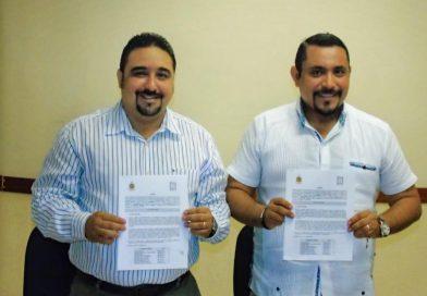 Firma de convenio entre el Ayuntamiento de Ticul y el ITSSY.