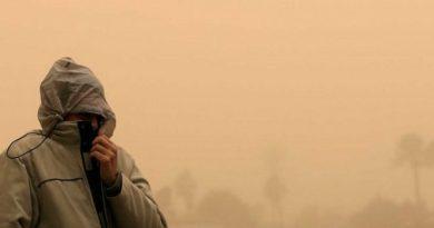 Egipto se paraliza por una gran tormenta de arena