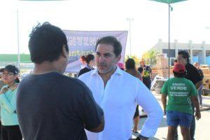 El alcalde Julián Zacarías Curi agradece a voluntarios por sanear los canales del oriente del puerto