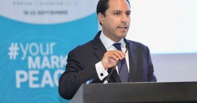 El Gobernador Mauricio Vila Dosal presenta amplio abanico de actividades para la edición 17 de la Cumbre Mundial de los Premios Nobel de la Paz