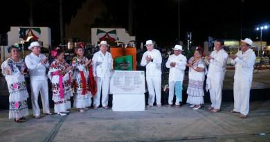 Alcalde Gerardo Concha, encabeza celebración de los 90 años de Tixpéual como municipio libre.