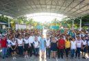 Estudiantes del Cobay Kinchil disfrutan nuevo domo en su plantel