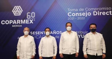 El Gobernador Mauricio Vila Dosal llama a los legisladores federales por Yucatán a analizar a profundidad la reforma en materia energética