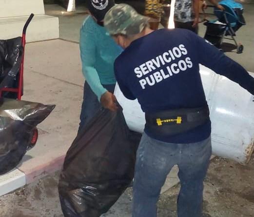 Realizan operativo de limpieza tras fiestas patrias