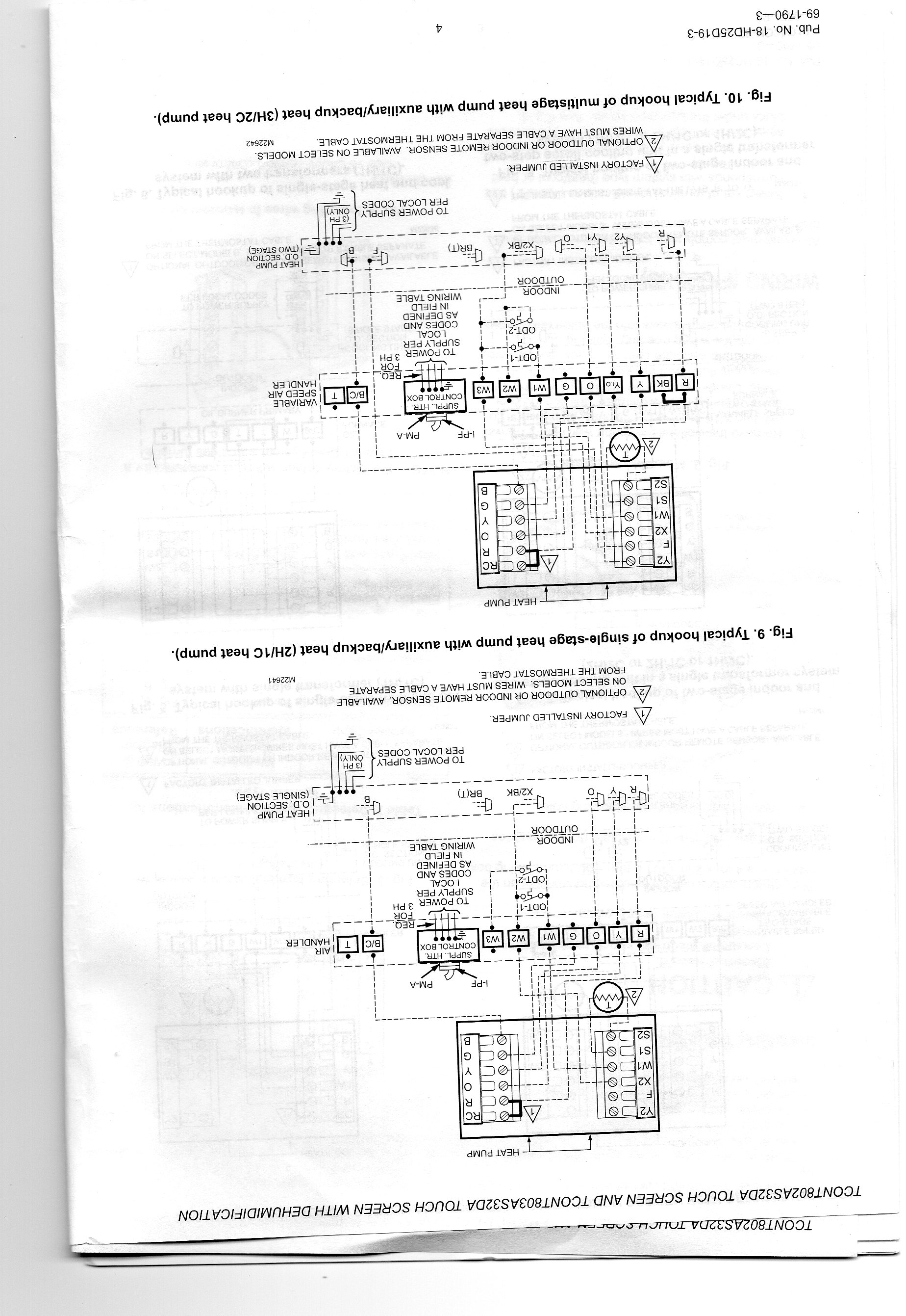 trane weathertron baystat 239 thermostat wiring diagram genset xv90 diagrams