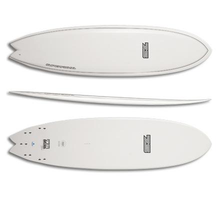 Доска для серфинга fishboard