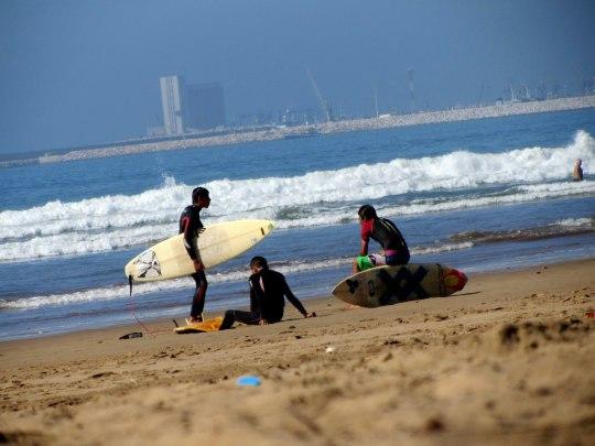 Тренировка по серфингу | Школа серфинга в Марокко Surf-Burg