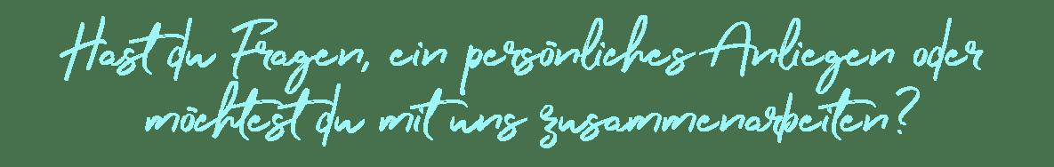 Textzeile Anliegen Fragen Zusammenarbeit mit Surf Fitness Online
