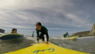 surf lessons on curriculum