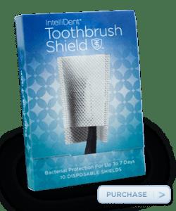 sample toothbrush shield