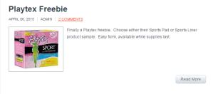 playtex-freebie-complimentary-crap
