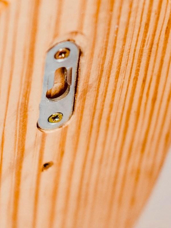 Hardwood Surf Rack