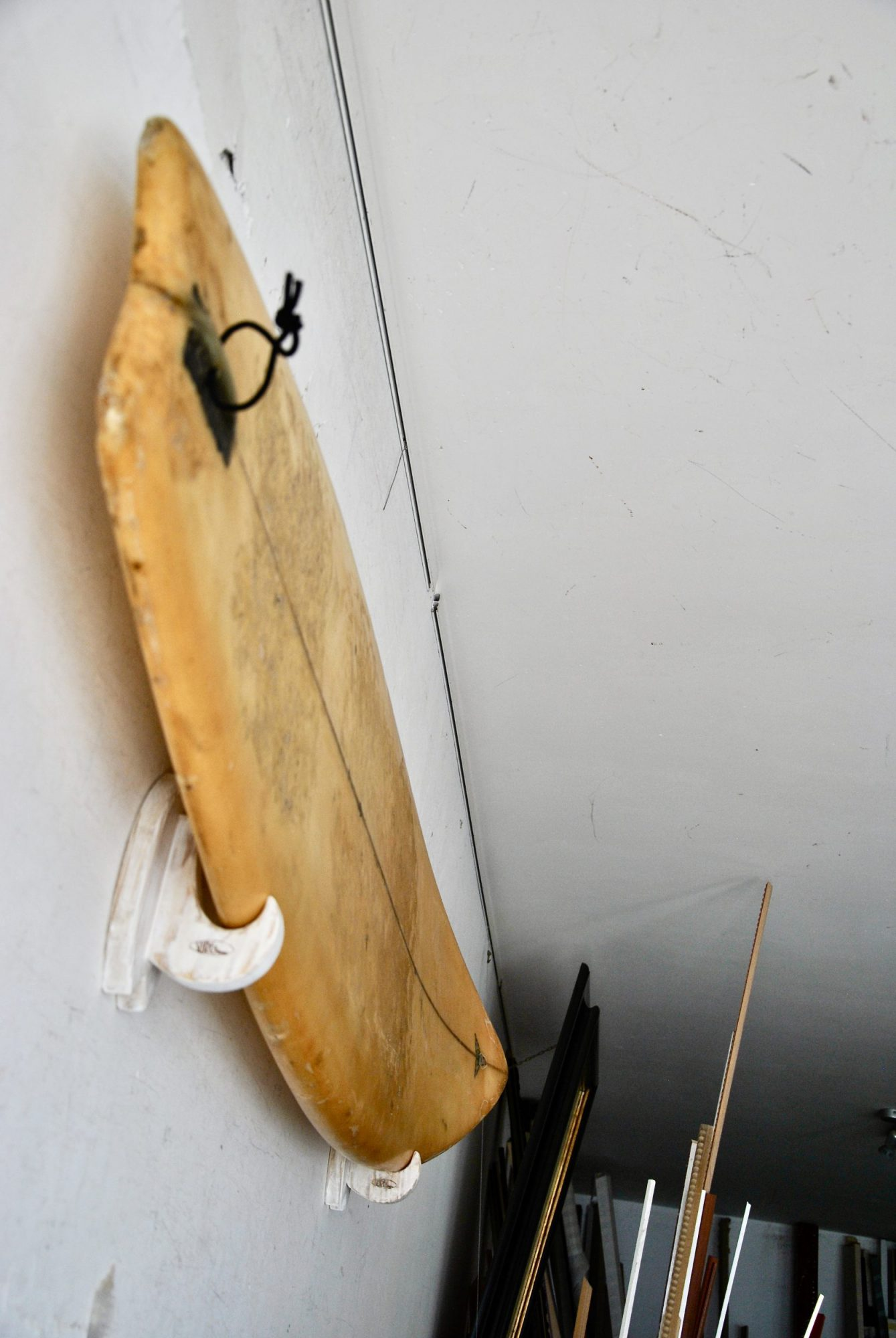 Surfboard Racks In Shabby Chic Finish For Surfboard And