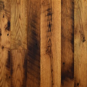 Reclaimed Hit & Miss Oak Hardwood Floors