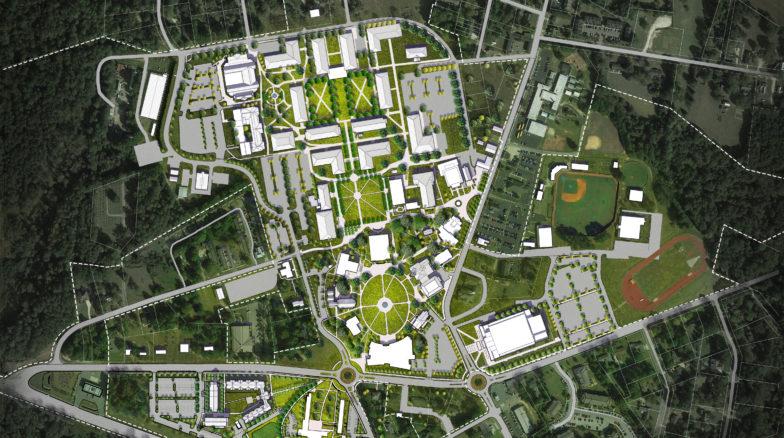 Campus Master Plan  Surface 678