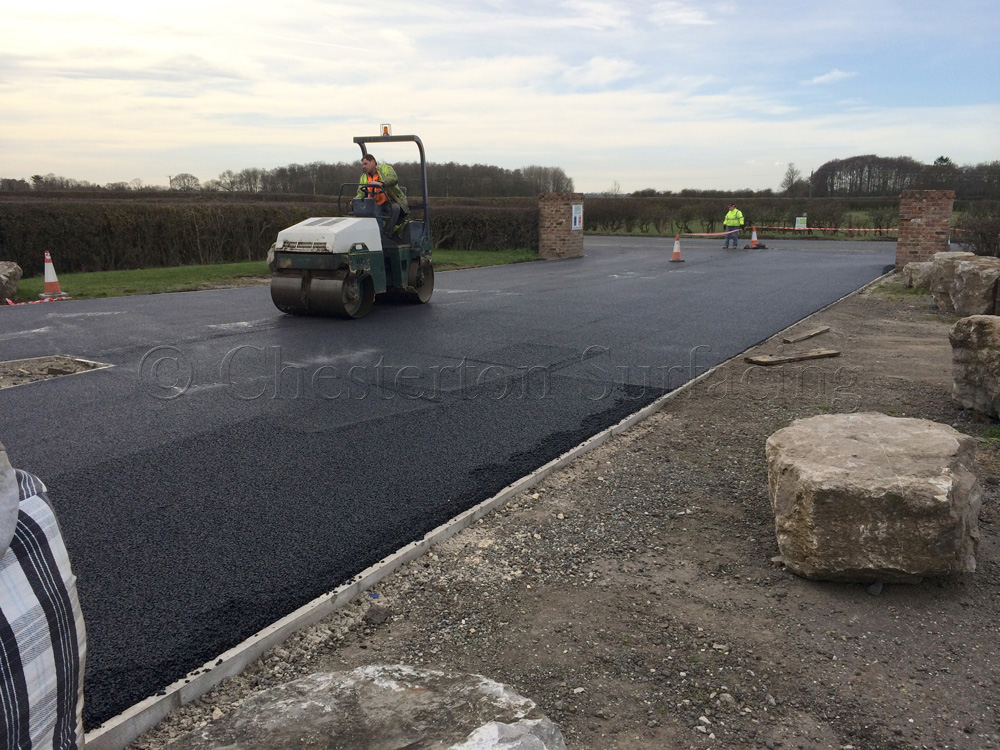 Surface Dressing Private Roads