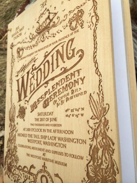 Surface Grooves_Custom Wedding Book_2