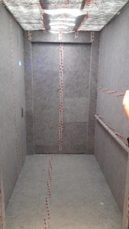 interior elevator protection
