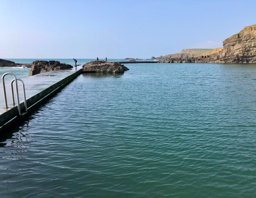 Bude Sea Pool the venue for our open water swimming classes