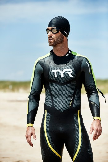 open water swimming wetsuit by TYR