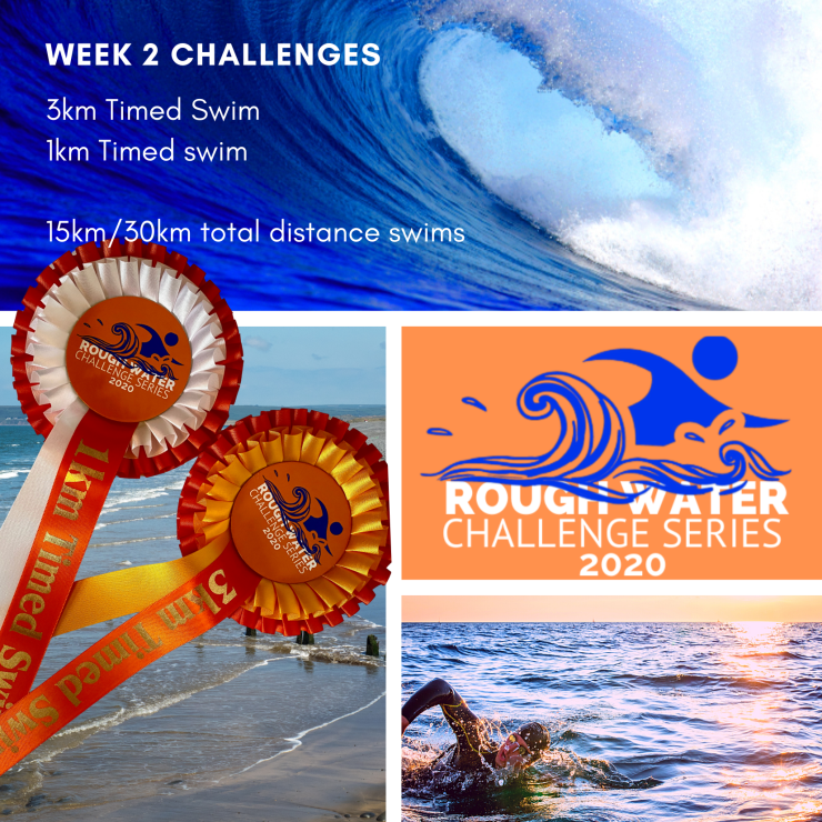 The Rough Water Challenge Series pushes you each week to keep swimming!
