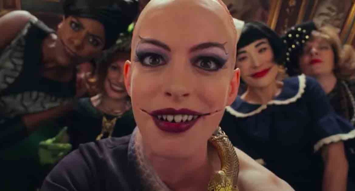 Anne Hathaway Is Fabulously Menacing in the Colorful Trailer For