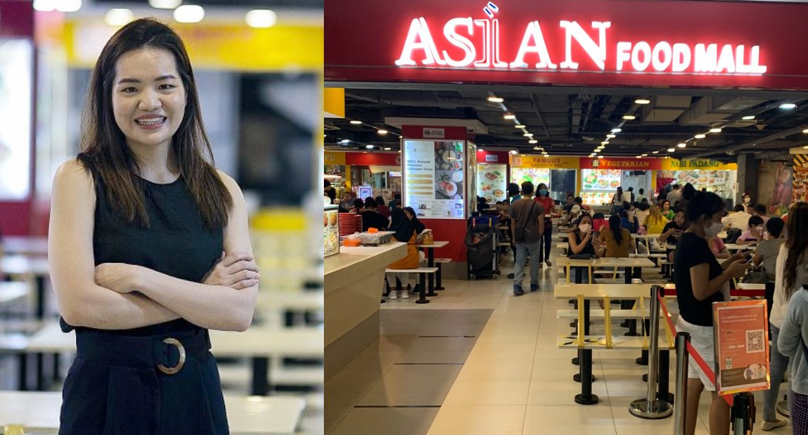 From Running A Stall To Her Family's Foodcourt: How This