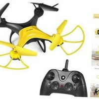 RC Drone,Best Drone for Kids and Beginners Easy to Fly Drone,RC New-yellow