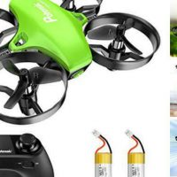 Upgraded A20 Mini Drone Easy to Fly Drone for Kids and Beginners, RC Green